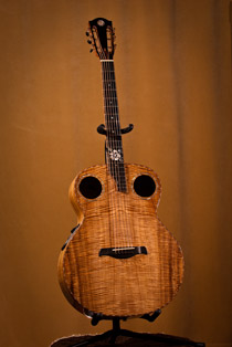 Koa Guitar Top
